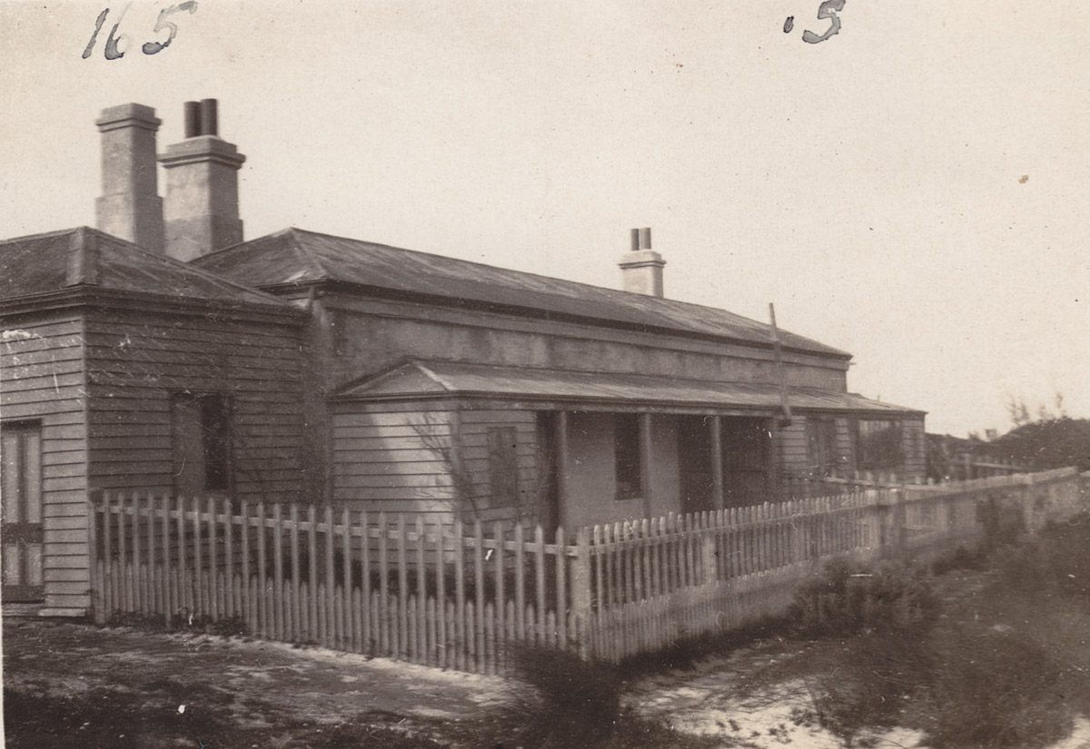 The lighthouse cottages at Cape Jaffa near Kingston, South Australia