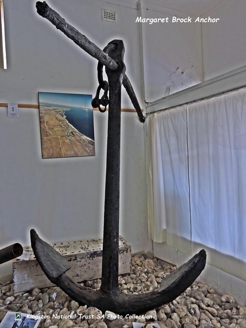 The Margaret Brock Anchor - Cape Jaffa Lighthouse Museum
