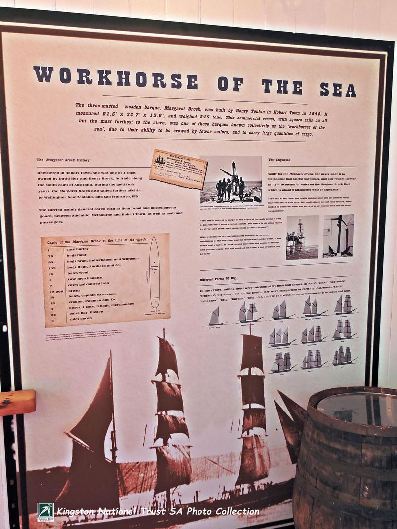 The Margaret Brock Room - Cape Jaffa Lighthouse Museum
