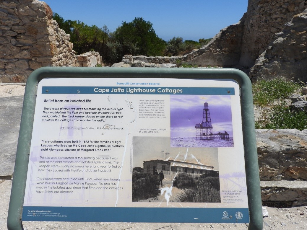 Cape Jaffa Lighthouse Cottages Site